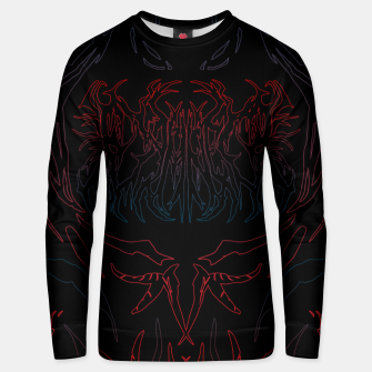 Thumbnail image of Damned Unisex sweater, Live Heroes