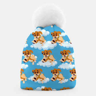 Thumbnail image of Dog Angel Cute Puppy Animal Lover Cartoon Pet Owner Beanie, Live Heroes