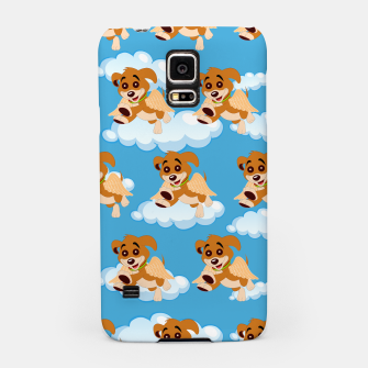 Thumbnail image of Dog Angel Cute Puppy Animal Lover Cartoon Pet Owner Samsung Case, Live Heroes