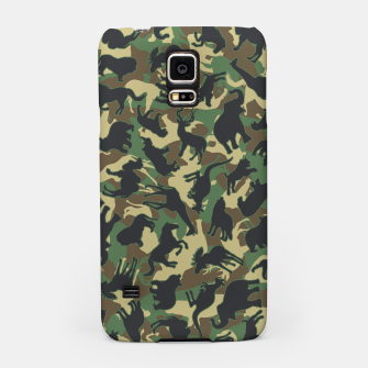 Thumbnail image of Animals Wild Animal Camo Forest Woodland Camouflage Pattern Samsung Case, Live Heroes