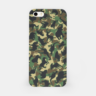 Miniaturka Animals Wild Animal Camo Forest Woodland Camouflage Pattern iPhone Case, Live Heroes