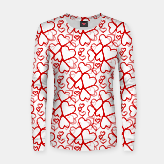Miniatur Be My Valentine Women sweater, Live Heroes