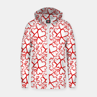 Be My Valentine Zip up hoodie thumbnail image