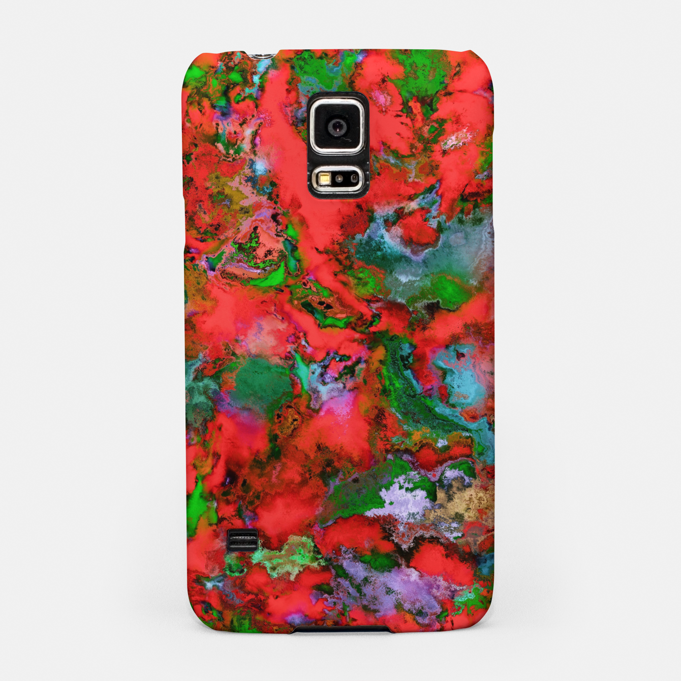 Image of The edge of the red lake Samsung Case - Live Heroes