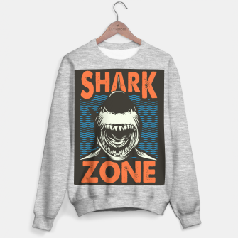 Miniature de image de Beware !!!! Shark Zone  Sweater regular, Live Heroes