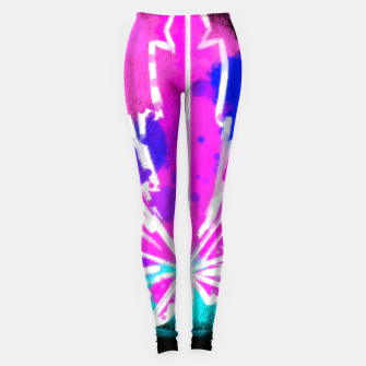 Thumbnail image of pink Ganja Leggings, Live Heroes