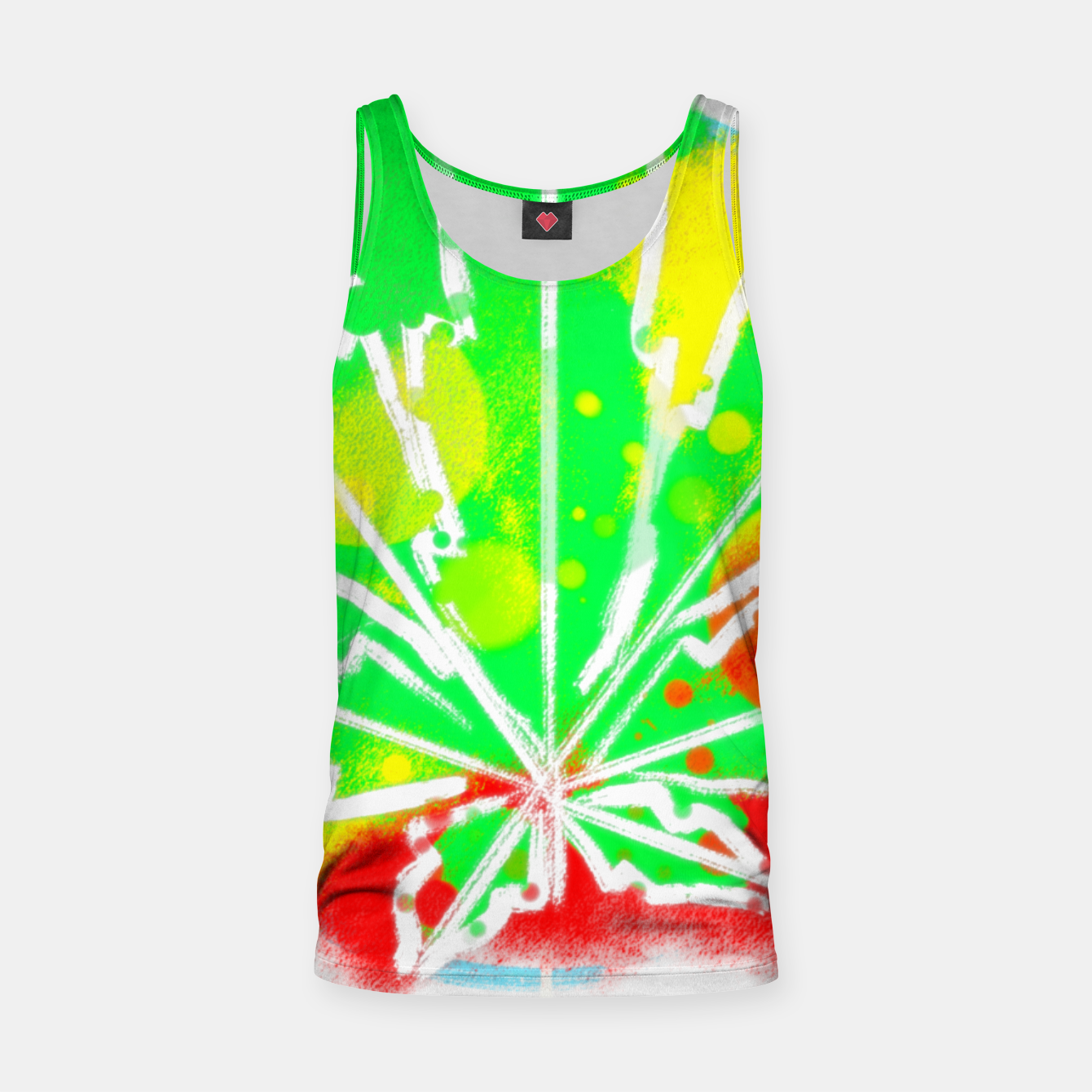 Image of pure Ganja Muskelshirt  - Live Heroes