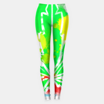 Thumbnail image of pure Ganja Leggings, Live Heroes