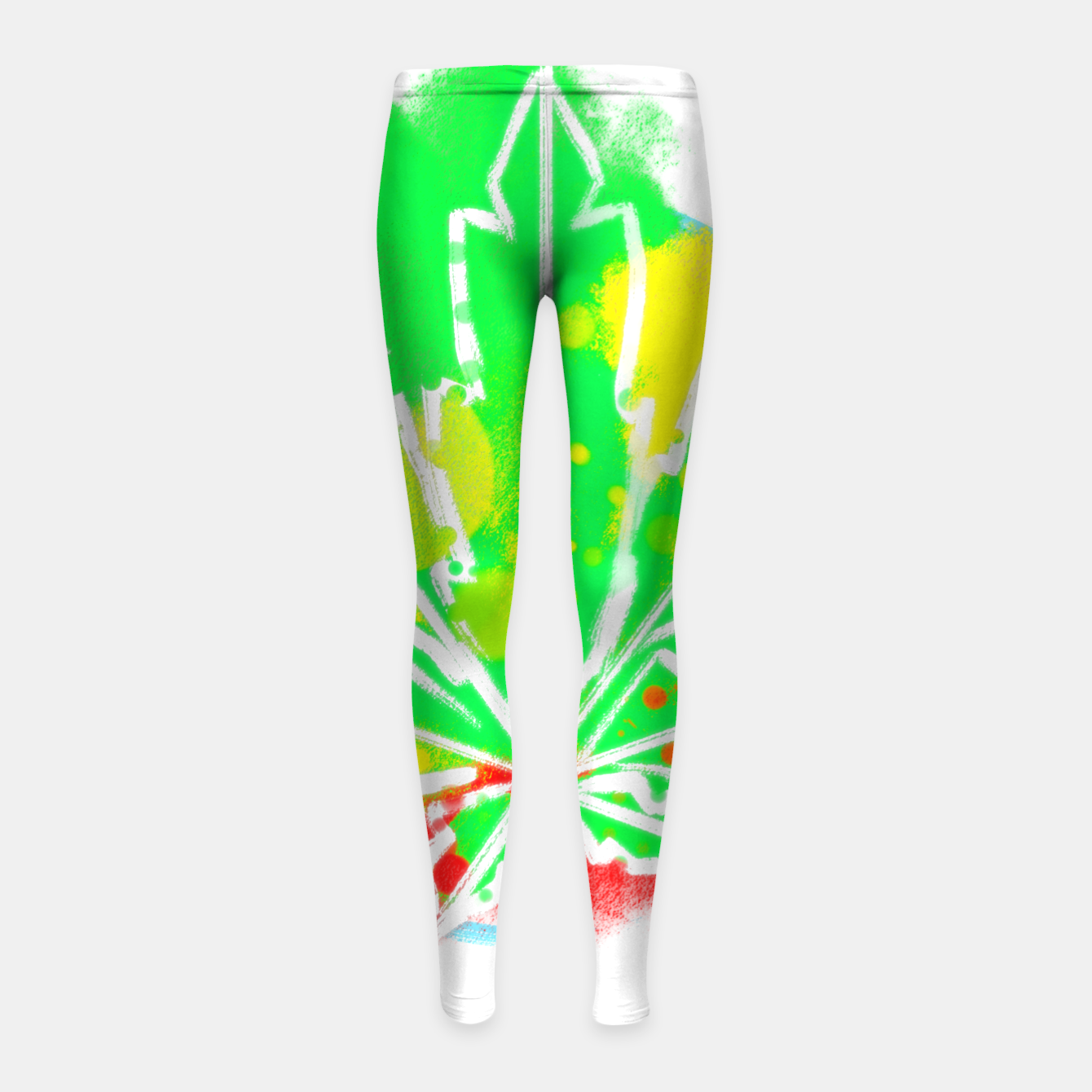 Image of pure Ganja Kinder-Leggins - Live Heroes