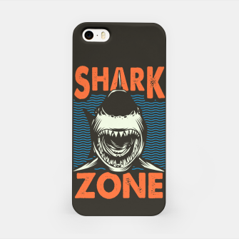 Miniaturka Beware !!!! Shark Zone  iPhone Case, Live Heroes