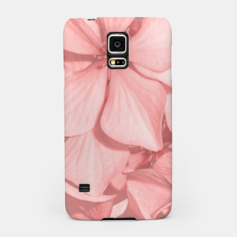 Thumbnail image of Coral Colored Hortensias Floral Photo Samsung Case, Live Heroes