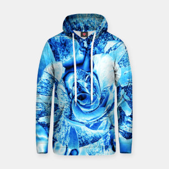 Thumbnail image of Blue Frozen Ice Rose Hoodie, Live Heroes