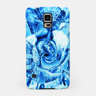 Thumbnail image of Blue Frozen Ice Rose Samsung Case, Live Heroes