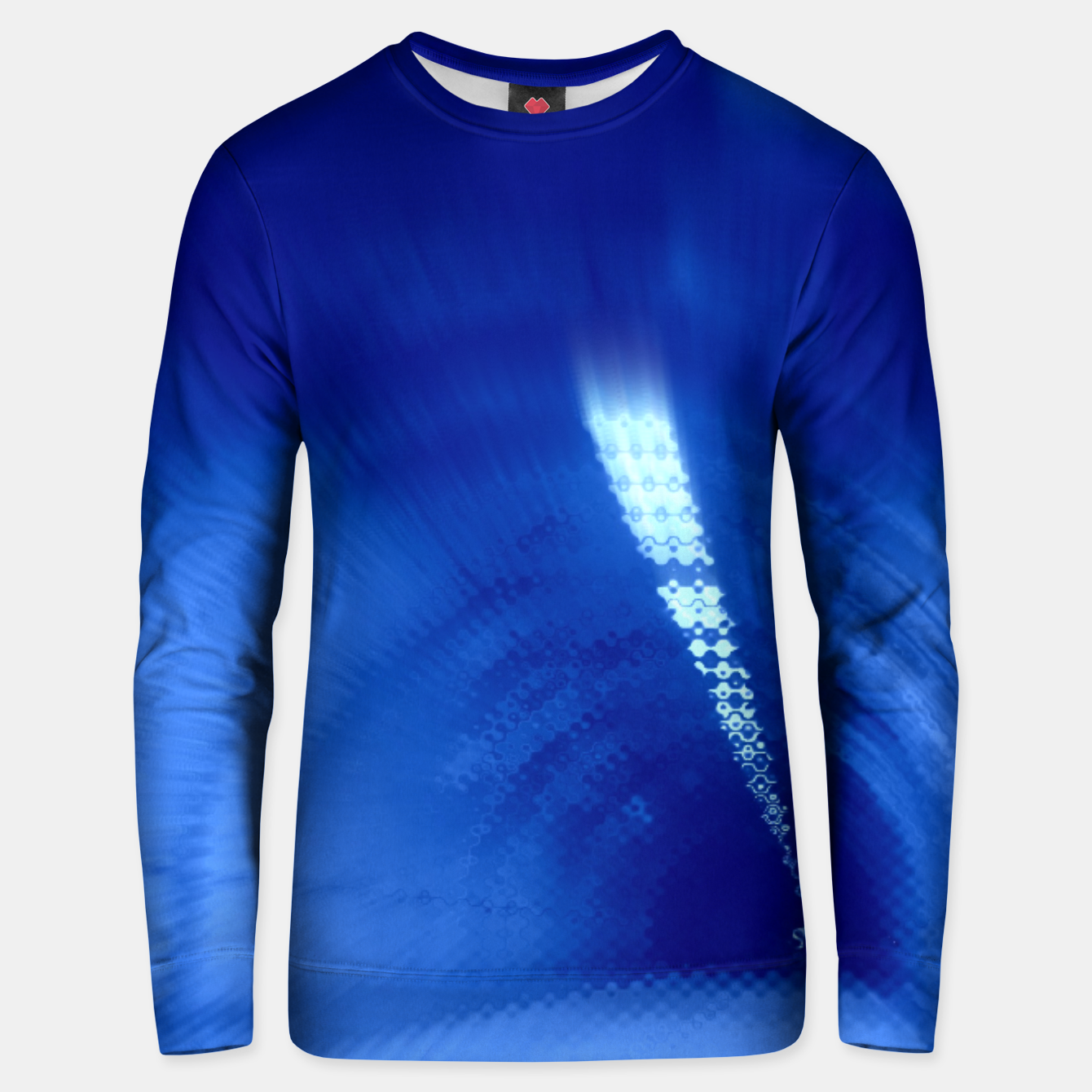 Image of Blue Wormhole in Space Unisex sweater - Live Heroes