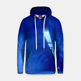 Miniatur Blue Wormhole in Space Hoodie, Live Heroes