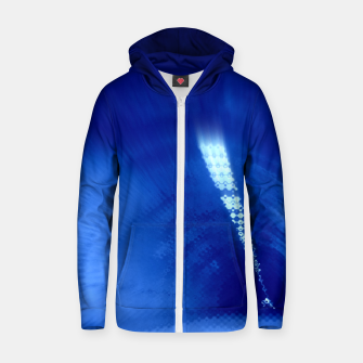 Thumbnail image of Blue Wormhole in Space Zip up hoodie, Live Heroes