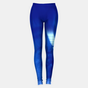 Thumbnail image of Blue Wormhole in Space Leggings, Live Heroes