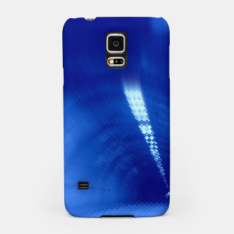Thumbnail image of Blue Wormhole in Space Samsung Case, Live Heroes
