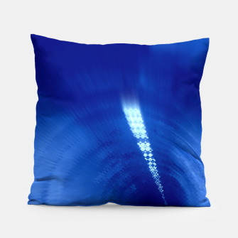 Thumbnail image of Blue Wormhole in Space Pillow, Live Heroes