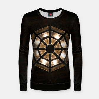 Miniatur Shine Bright Dark Night - Geometry of Light Women sweater, Live Heroes