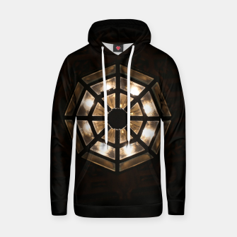 Miniatur Shine Bright Dark Night - Geometry of Light Hoodie, Live Heroes