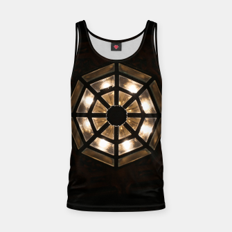 Thumbnail image of Shine Bright Dark Night - Geometry of Light Tank Top, Live Heroes