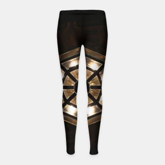 Miniaturka Shine Bright Dark Night - Geometry of Light Girl's leggings, Live Heroes
