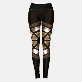 Thumbnail image of Shine Bright Dark Night - Geometry of Light Leggings, Live Heroes