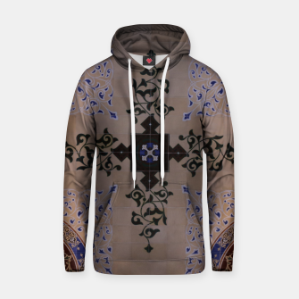 Ornamental Tiled Ceiling Geometric Pattern Hoodie thumbnail image