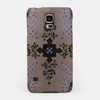 Ornamental Tiled Ceiling Geometric Pattern Samsung Case thumbnail image