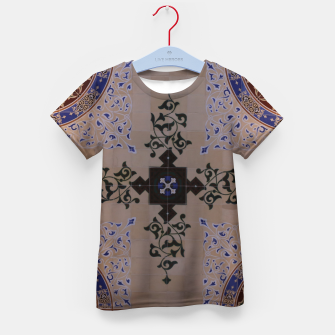Ornamental Tiled Ceiling Geometric Pattern Kid's t-shirt thumbnail image