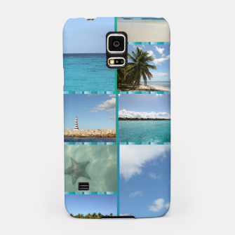 Thumbnail image of Great Tropical Paradise Caribbean Photo Collage Samsung Case, Live Heroes