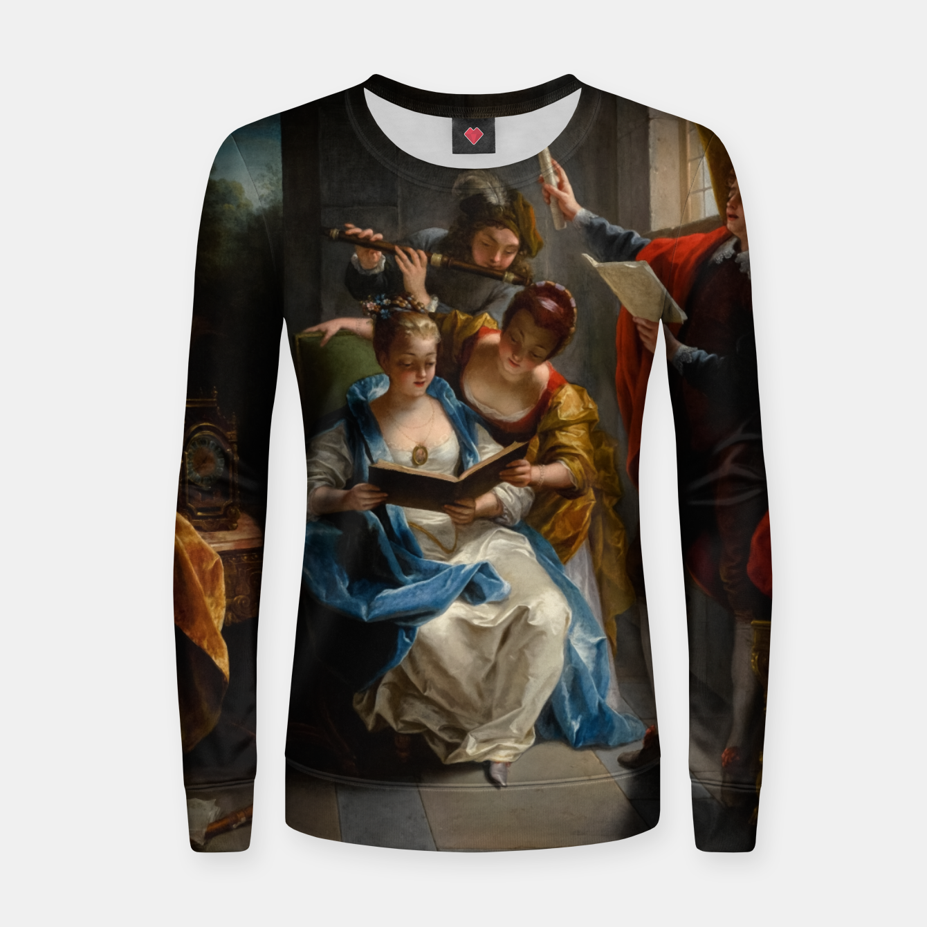 Image of A Quartet In Concert by Jean Raoux Women sweater - Live Heroes