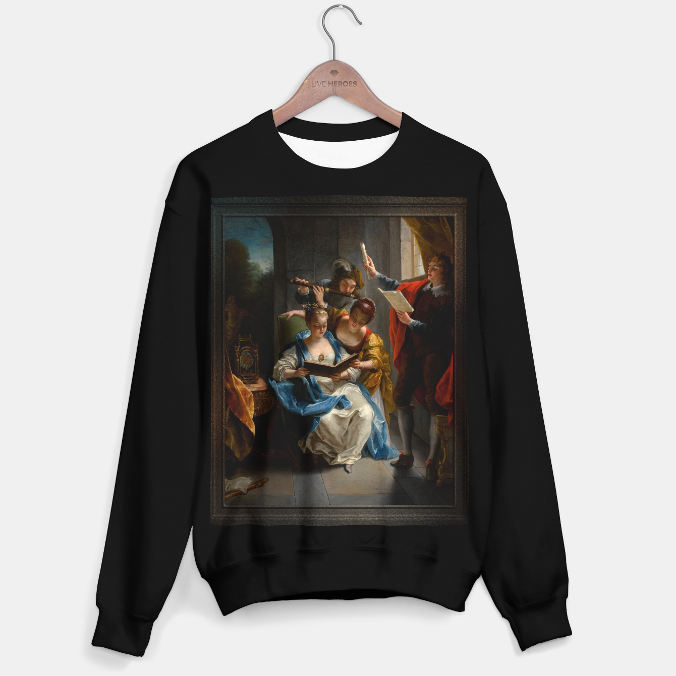 Image of A Quartet In Concert by Jean Raoux Sweater regular - Live Heroes
