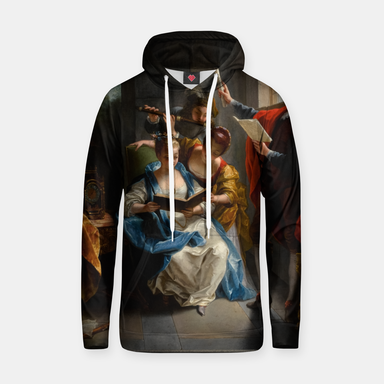 Image of A Quartet In Concert by Jean Raoux Hoodie - Live Heroes