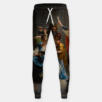 A Quartet In Concert by Jean Raoux Sweatpants thumbnail image