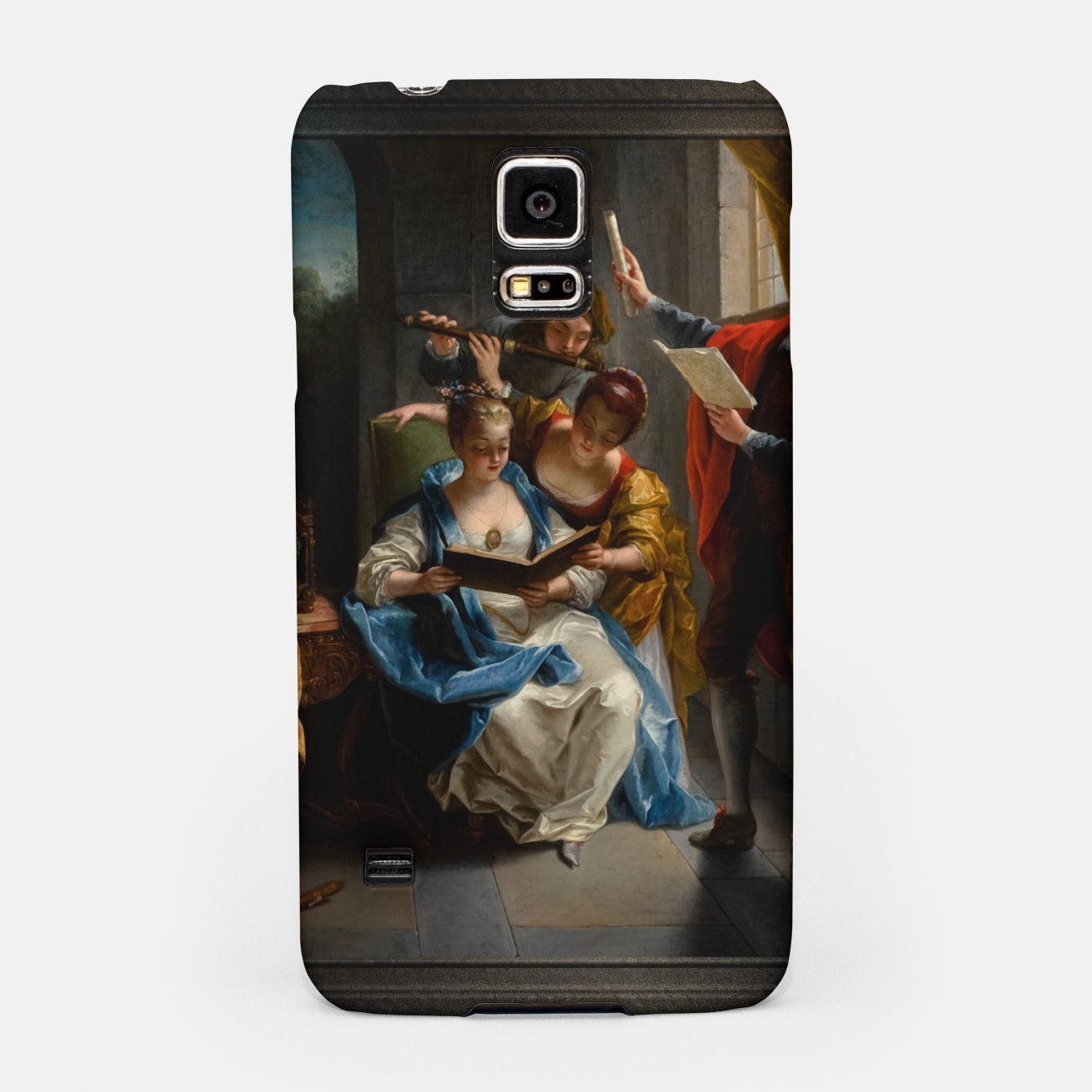 Image of A Quartet In Concert by Jean Raoux Samsung Case - Live Heroes