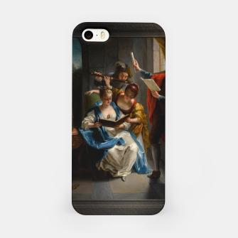 A Quartet In Concert by Jean Raoux iPhone Case thumbnail image