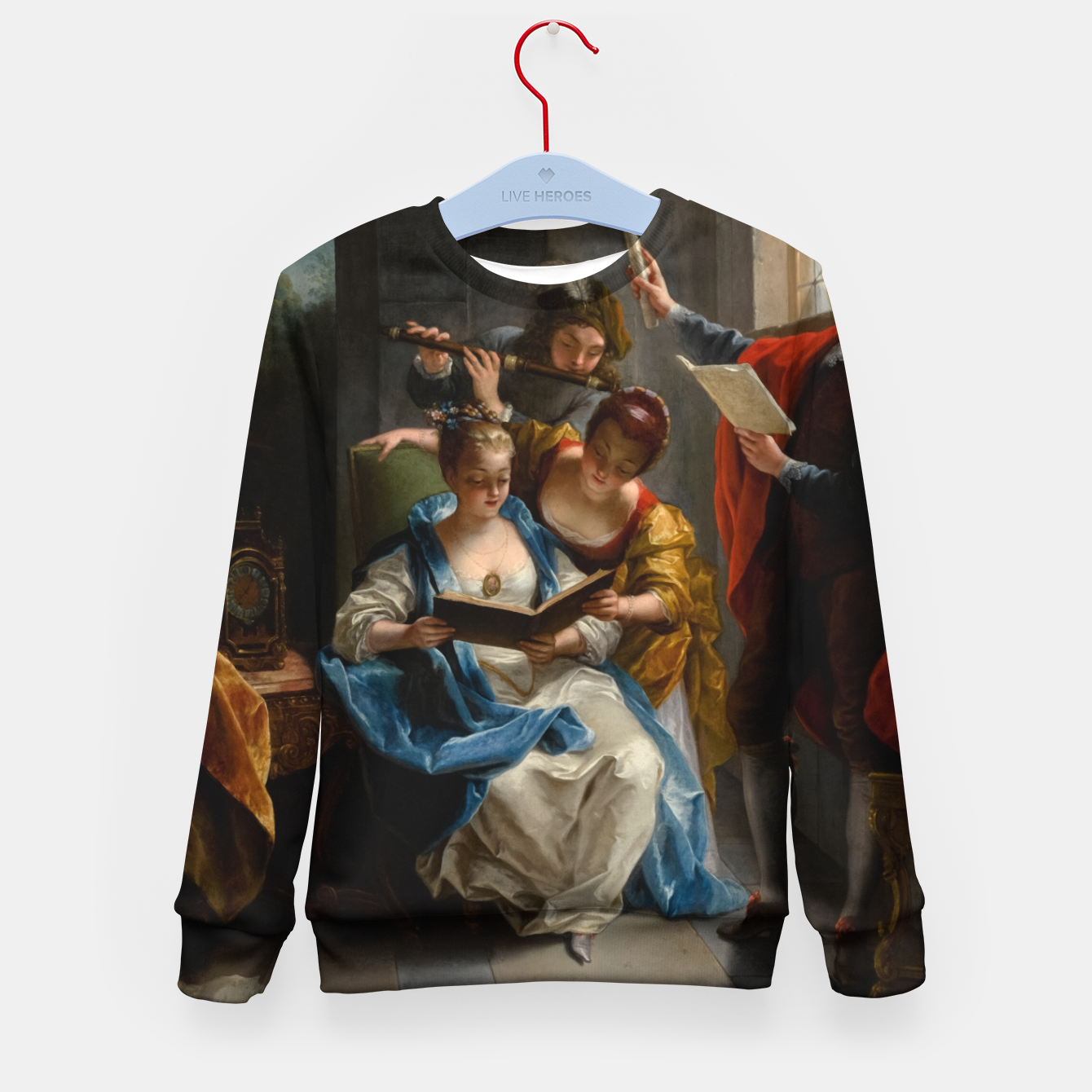 Image of A Quartet In Concert by Jean Raoux Kid's sweater - Live Heroes