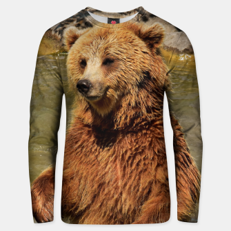Thumbnail image of Brown Bear Unisex sweater, Live Heroes