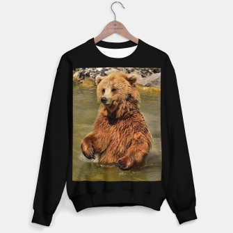Miniature de image de Brown Bear Sweater regular, Live Heroes