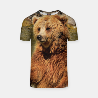 Thumbnail image of Brown Bear T-shirt, Live Heroes