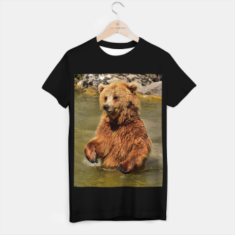 Thumbnail image of Brown Bear T-shirt regular, Live Heroes