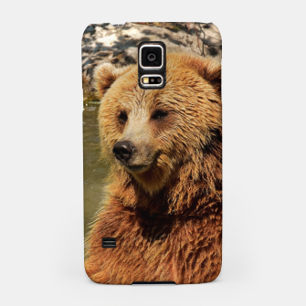 Thumbnail image of Brown Bear Samsung Case, Live Heroes
