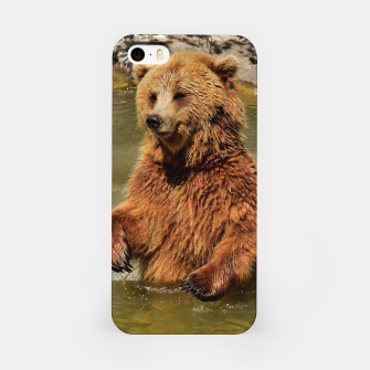 Miniaturka Brown Bear iPhone Case, Live Heroes