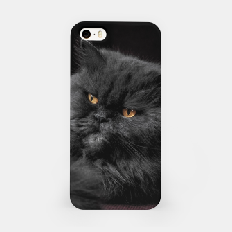 Miniaturka Angry Black Cat iPhone Case, Live Heroes