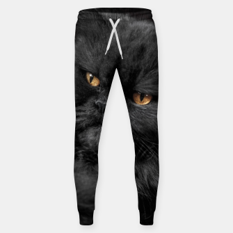 Thumbnail image of Angry Black Cat Sweatpants, Live Heroes