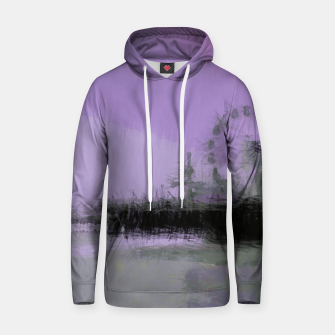 Miniatur Abstract Purple and Grey Shades Santa Monica Pier Hoodie, Live Heroes