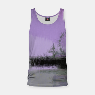 Thumbnail image of Abstract Purple and Grey Shades Santa Monica Pier Tank Top, Live Heroes