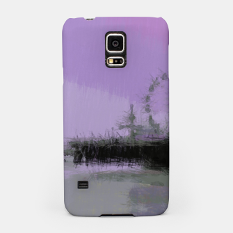 Thumbnail image of Abstract Purple and Grey Shades Santa Monica Pier Samsung Case, Live Heroes